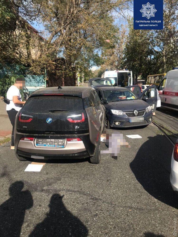 Renault не уступил дорогу BMW
