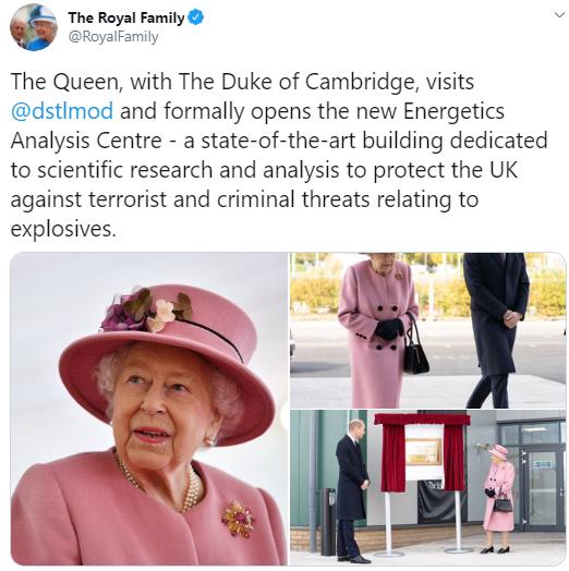 Королева Елизавета II посетила город Солсбери.
