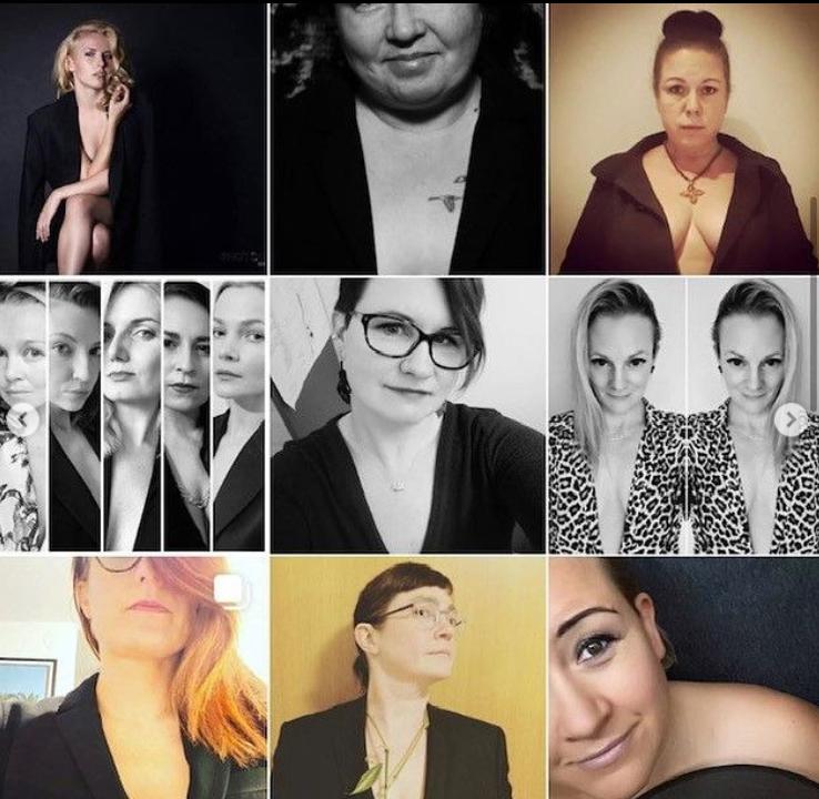 Женщины публикуют снимки в пиджаке на голое тело в поддержку Санны Марин.