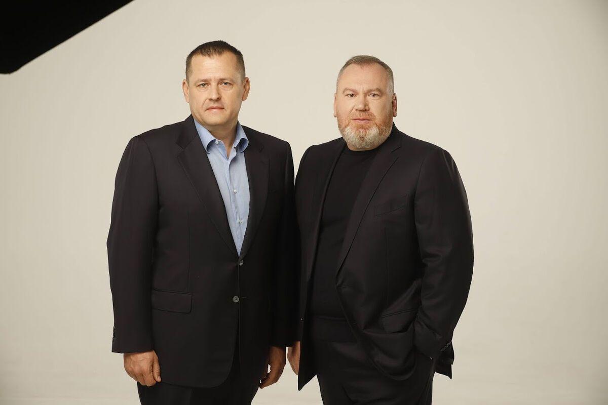 Борис Филатов и Валентин Резниченко.