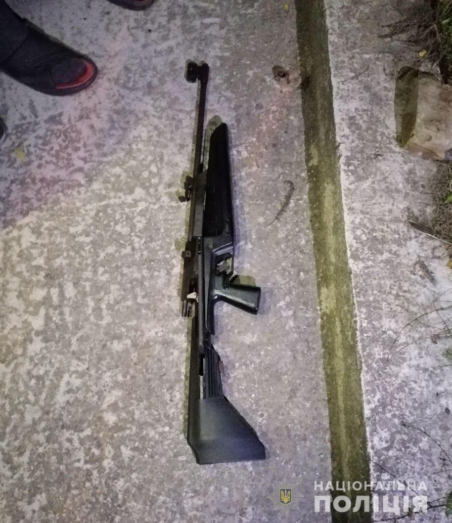 У нарушителя изъяли винтовку.