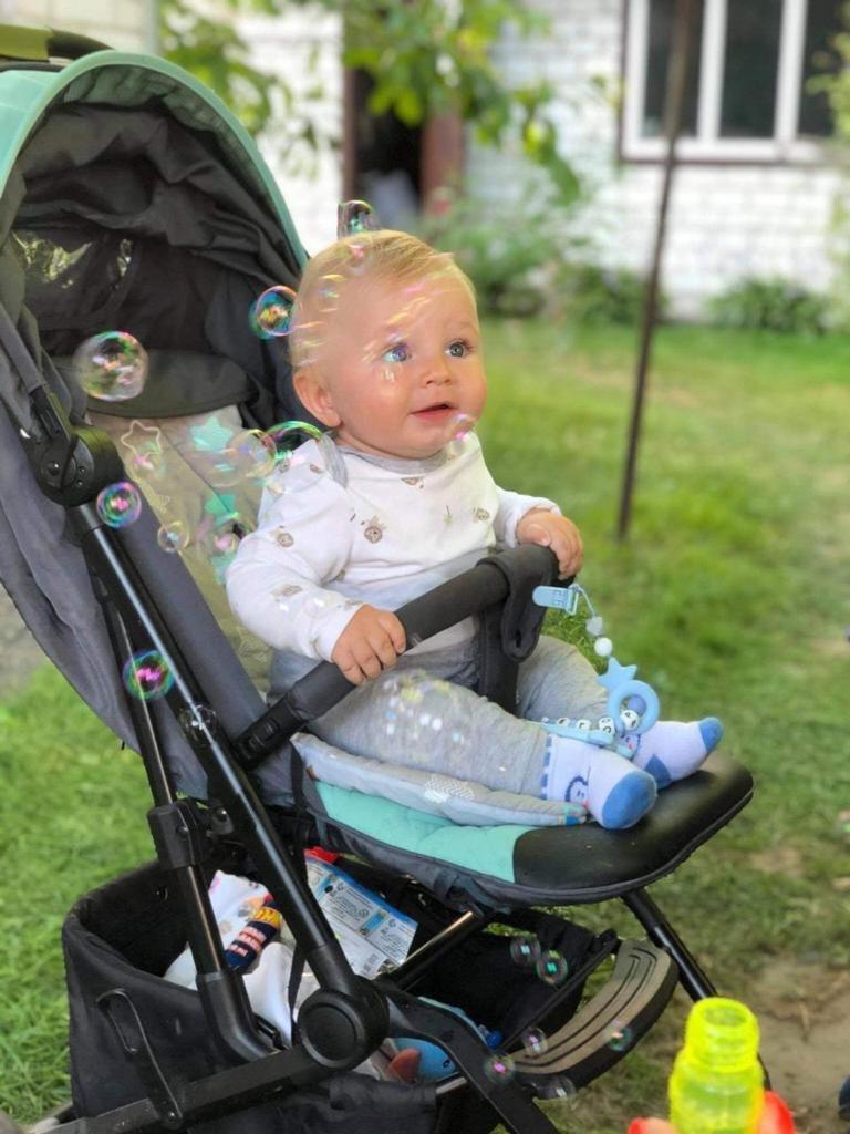 10-месячный сын семьи Кудрявских в Броварах заболел редкой болезнью