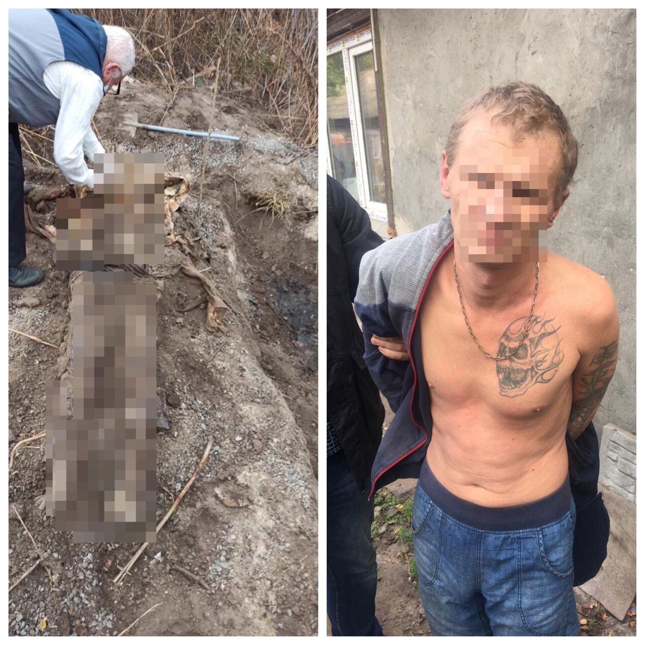 В Черкассах 37-летний мужчина убил и закопал во дворе своего знакомого