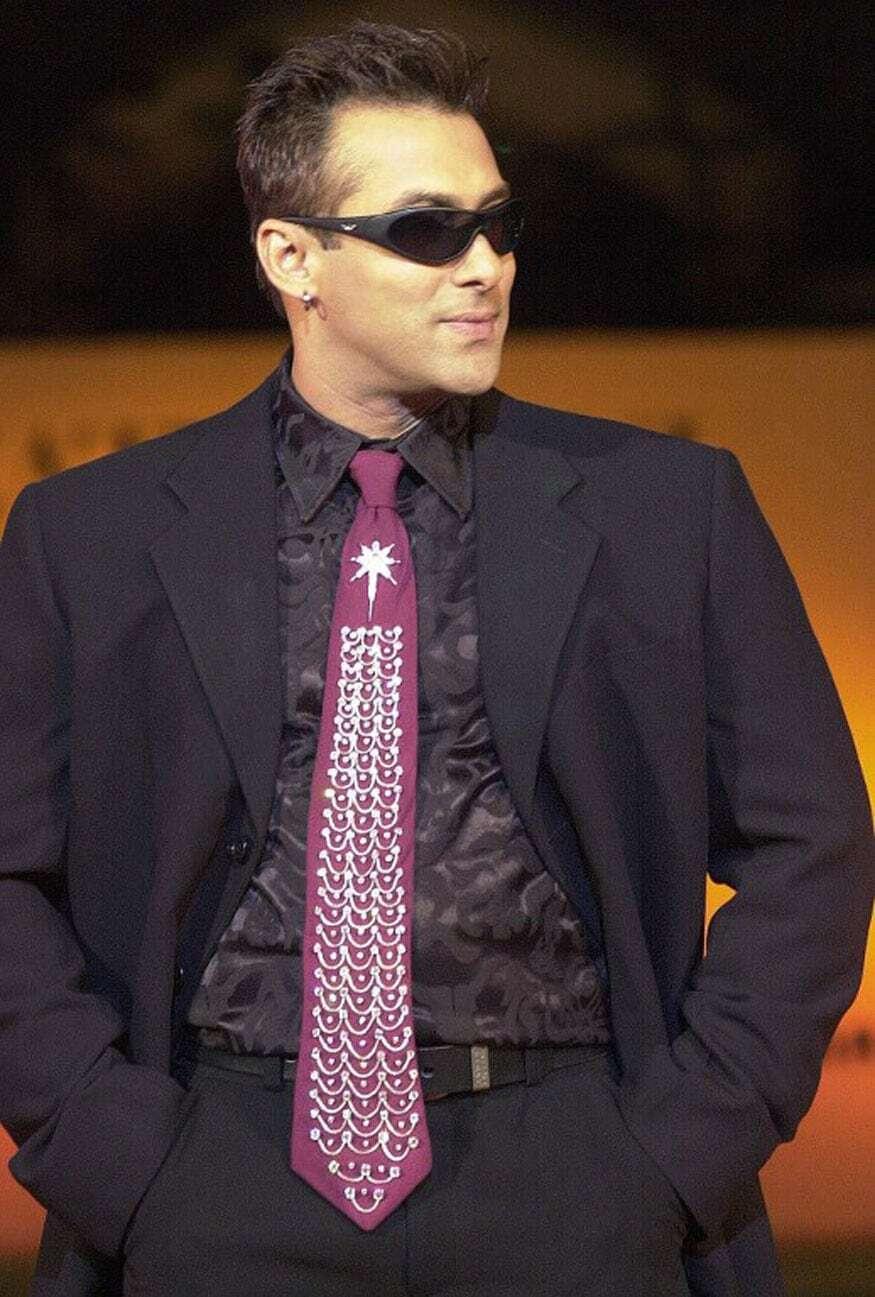 Самый дорогой в мире галстук был сшит в Индии в студии дизайна Satya Paul Design Studio