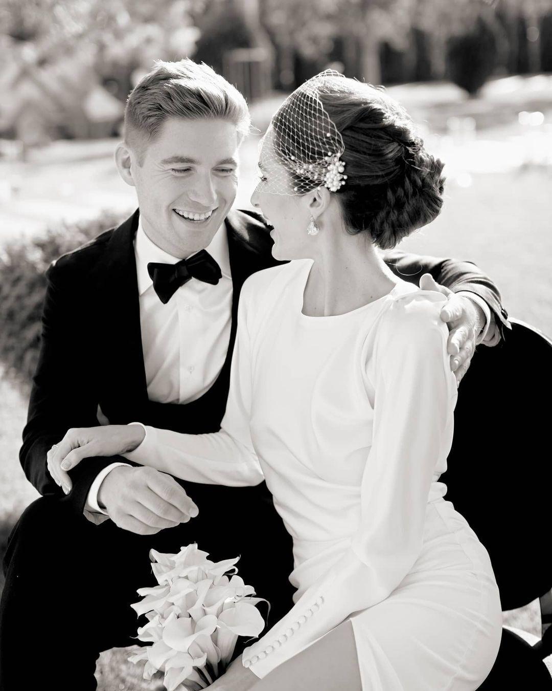 Трогательные фото со свадьбы Остапчука и Горняк.