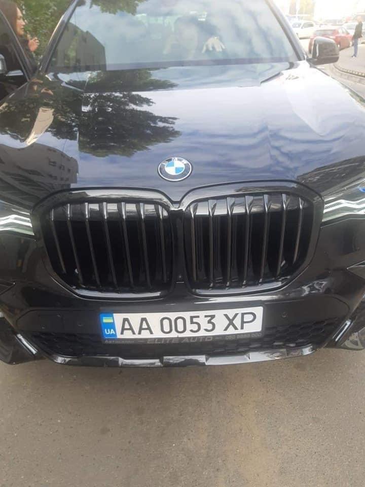 BMW, водій якої нібито побив ветерана