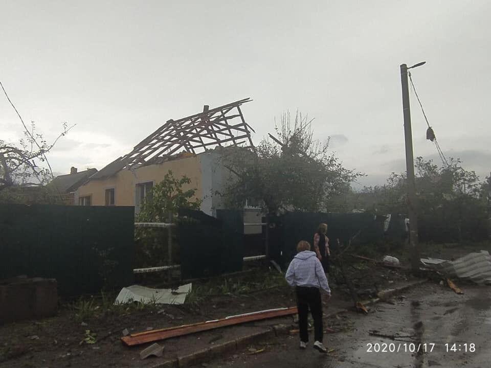 Ураган у Кропивницькому: постраждали троє людей