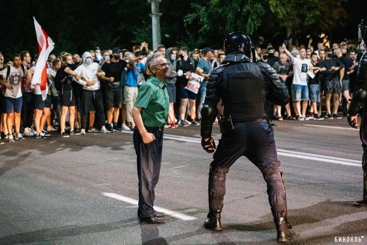 Протести в Білорусі.