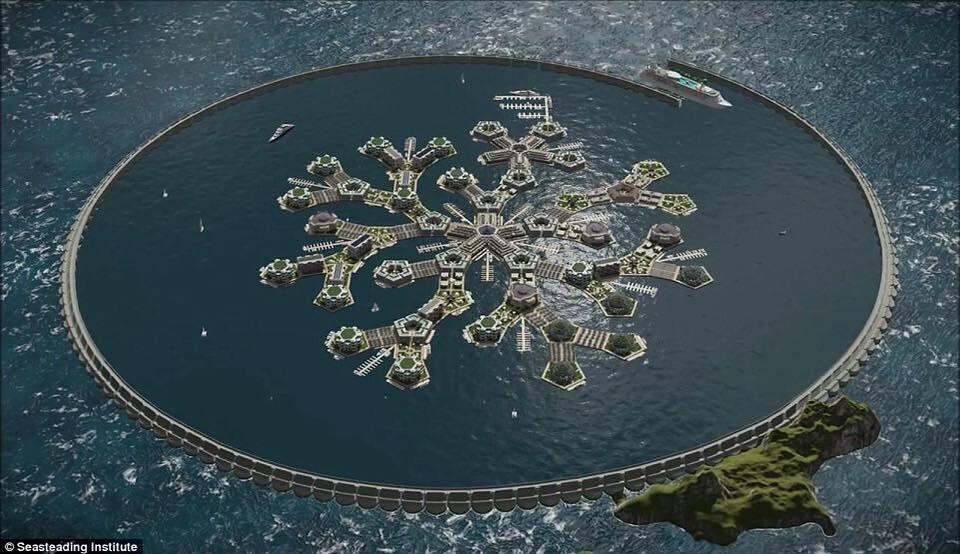 У 2022 році у Тихому океані з'явиться перша плаваюча держава