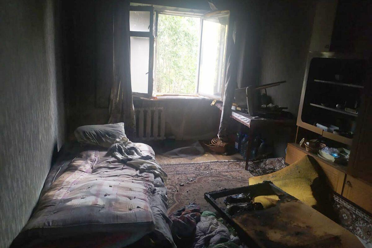 В результаті пожежі загинув чоловік.