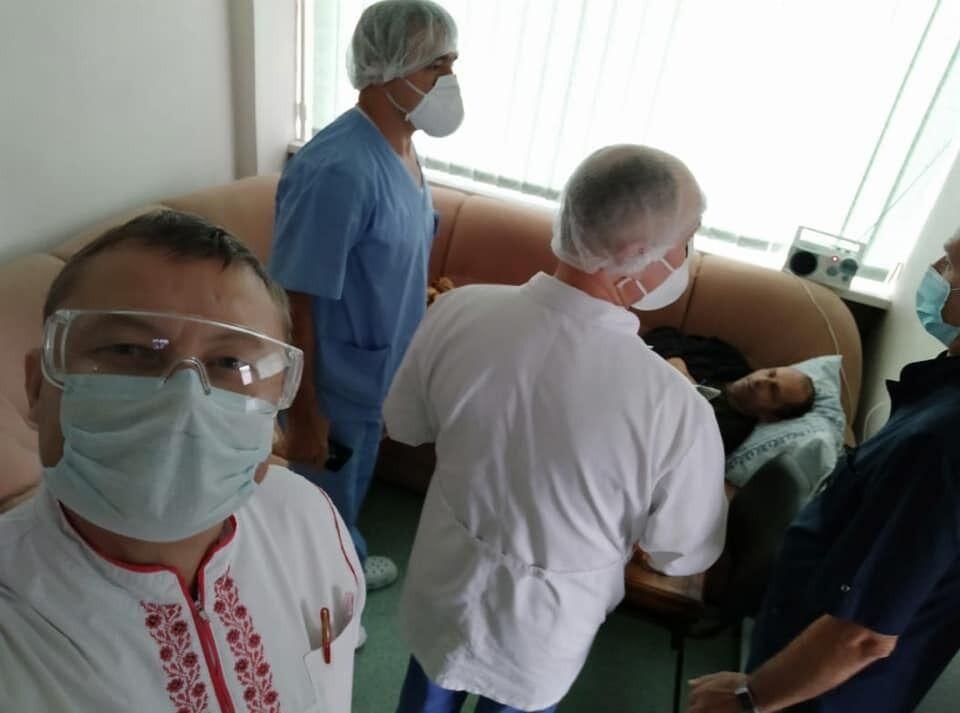 Балуха у лікарні відвідали друзі