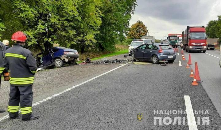 Роковое ДТП произошло в Пустомытовском районе.