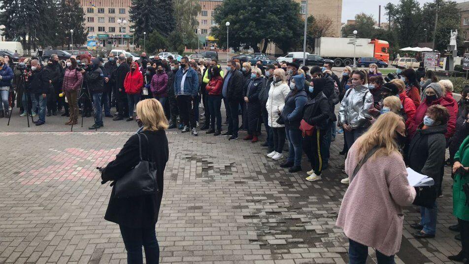 Акция протеста в Смеле