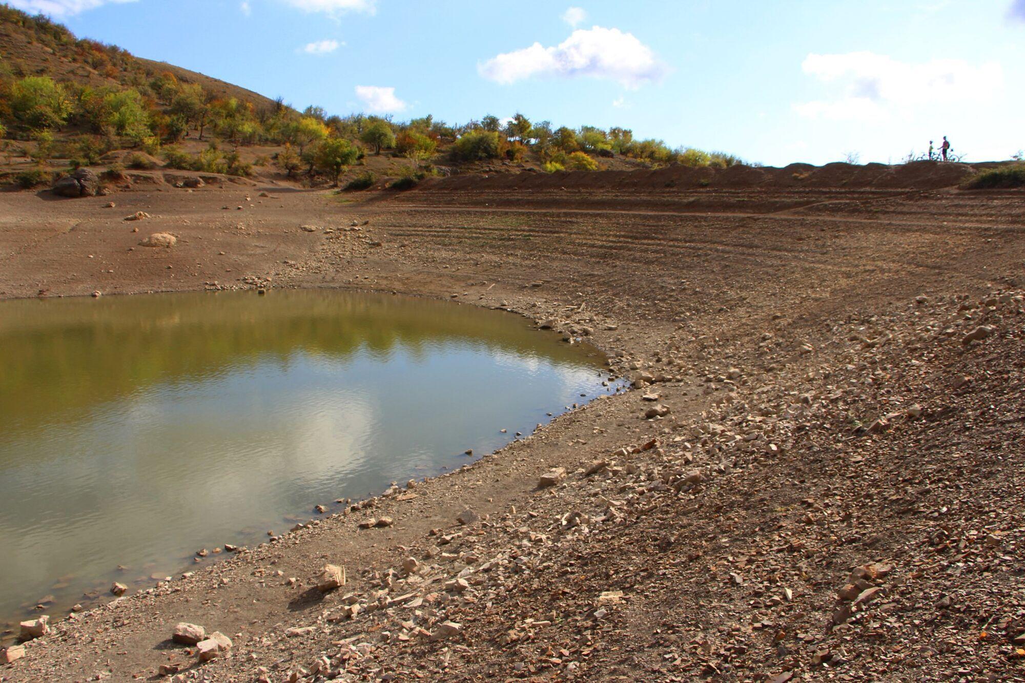 От уникального водоема практически ничего не осталось