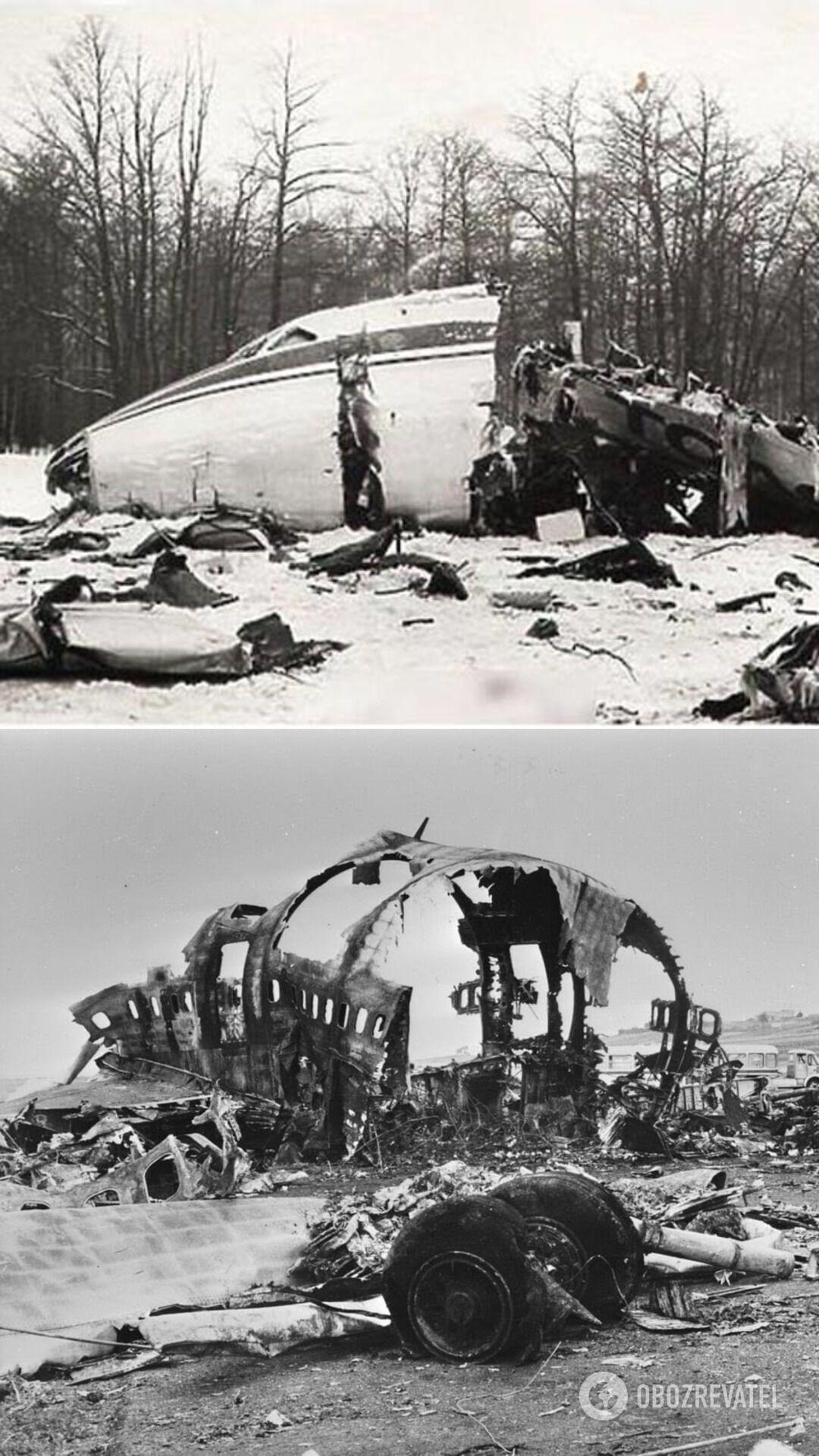 Катастрофа Ту-104 под Внуково, 1979 год и крушение Ту-154 под Омском, 1984 год