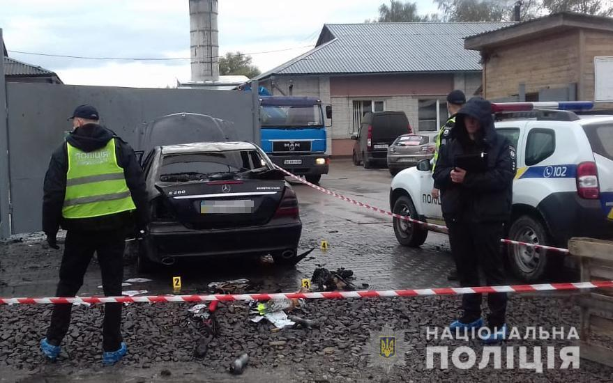 Кандидату в голови Дрогобицької ОТГ підпалили авто