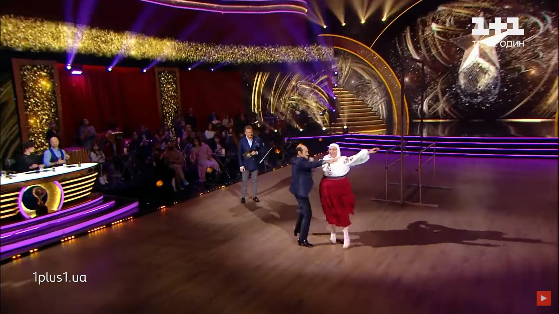 """90-річний Чапкіс пустився в танок із мамою Сердючки на """"Танцях з зірками"""" і викликав фурор у мережі"""