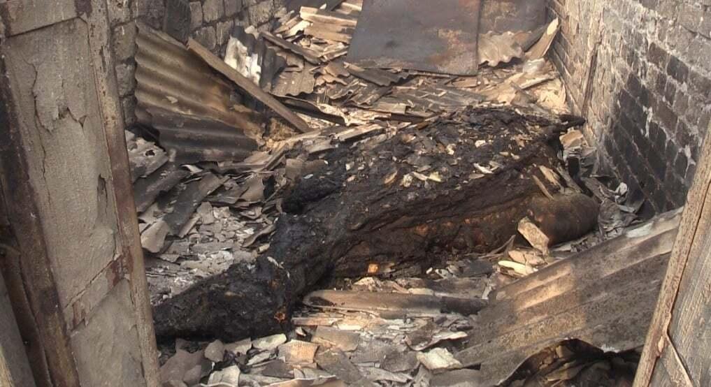 В Сиротино в огне погибла корова.