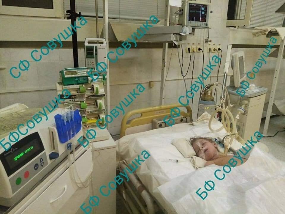 За жизнь ребенка боролись врачи.