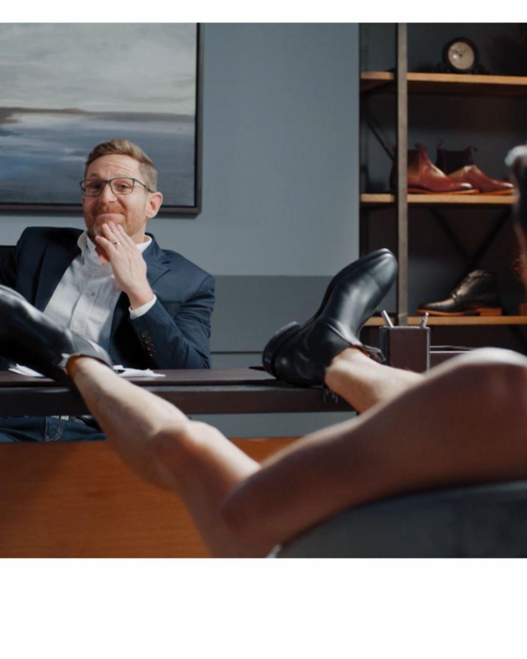 Х'ю Джекман знявся голим рекламі взуття (Instagram Х'ю Джекмана)