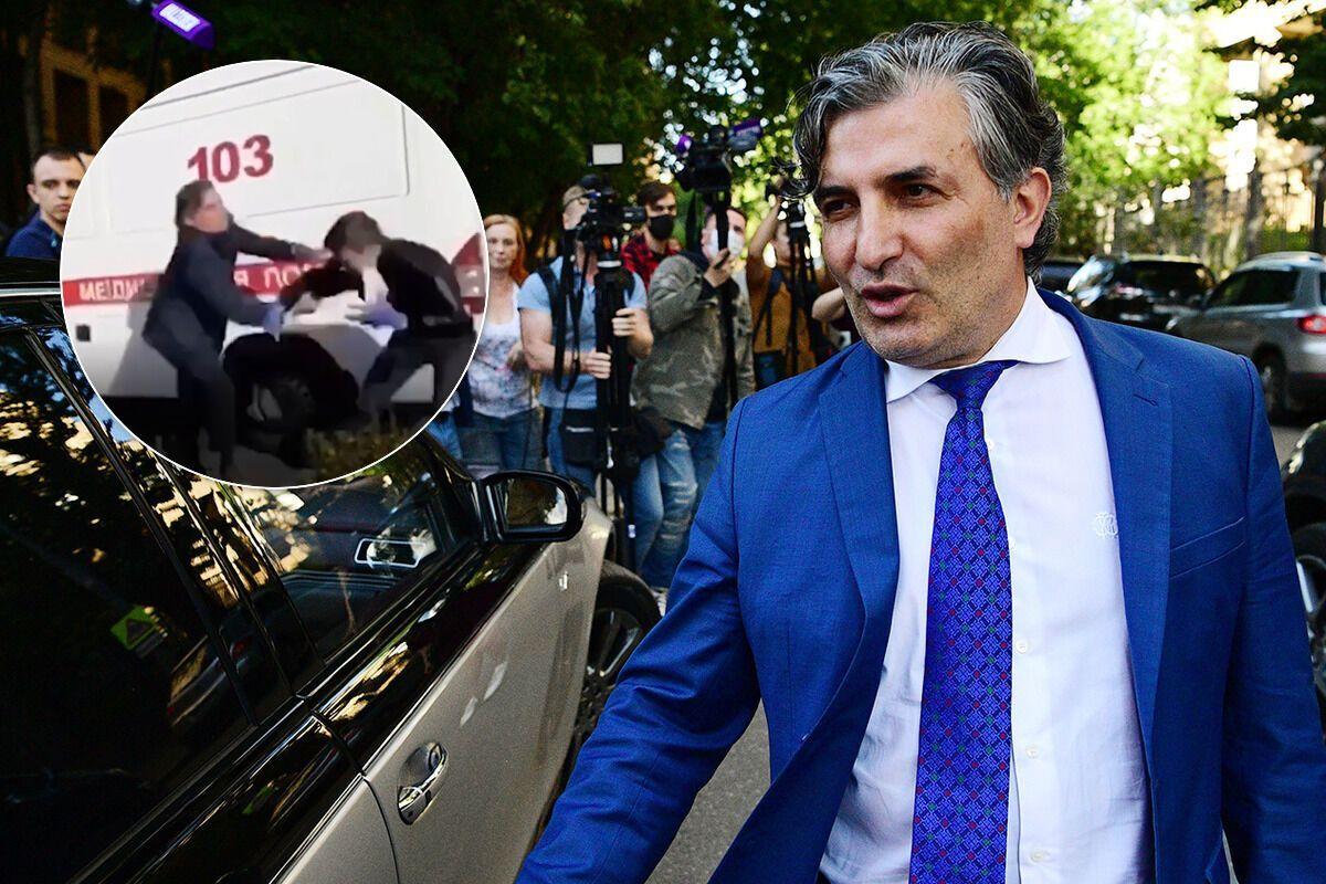 Пашаев подрался с облившим его фекалиями мужчиной. коллаж