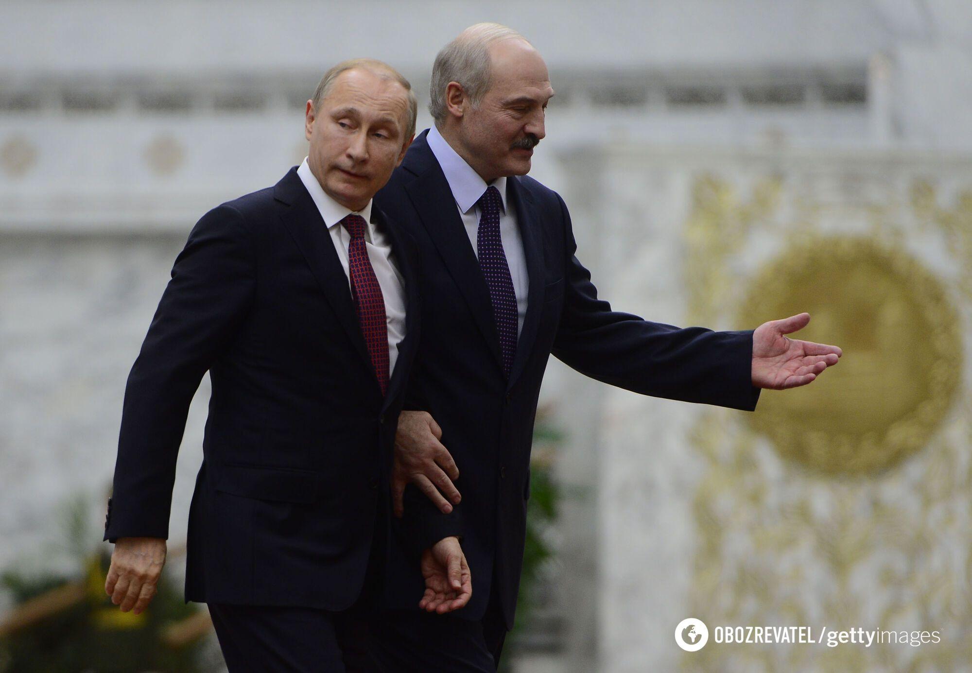 Володимир Путін, Олександр Лукашенко.