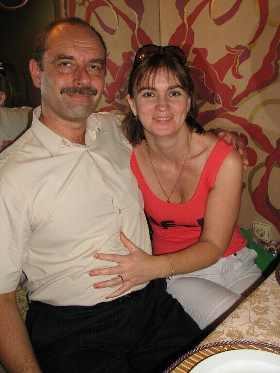 Иван Венжинович с супругой.