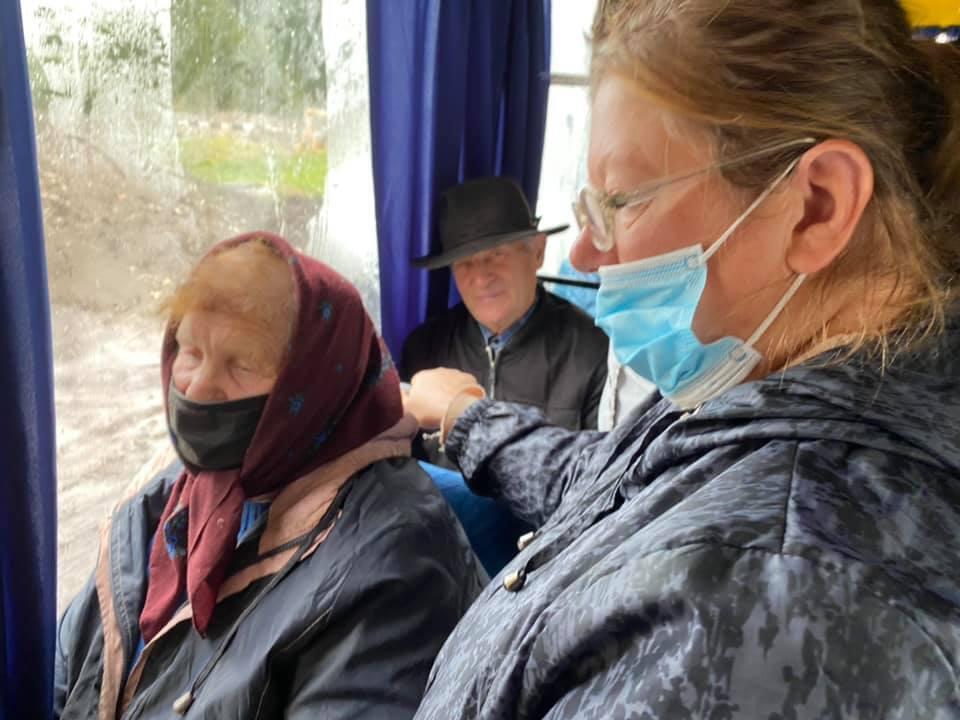 Пассажирки заявили, что презирают ВСУ.
