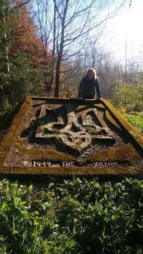 Богдан и Наталья Настюк восстановили памятник.