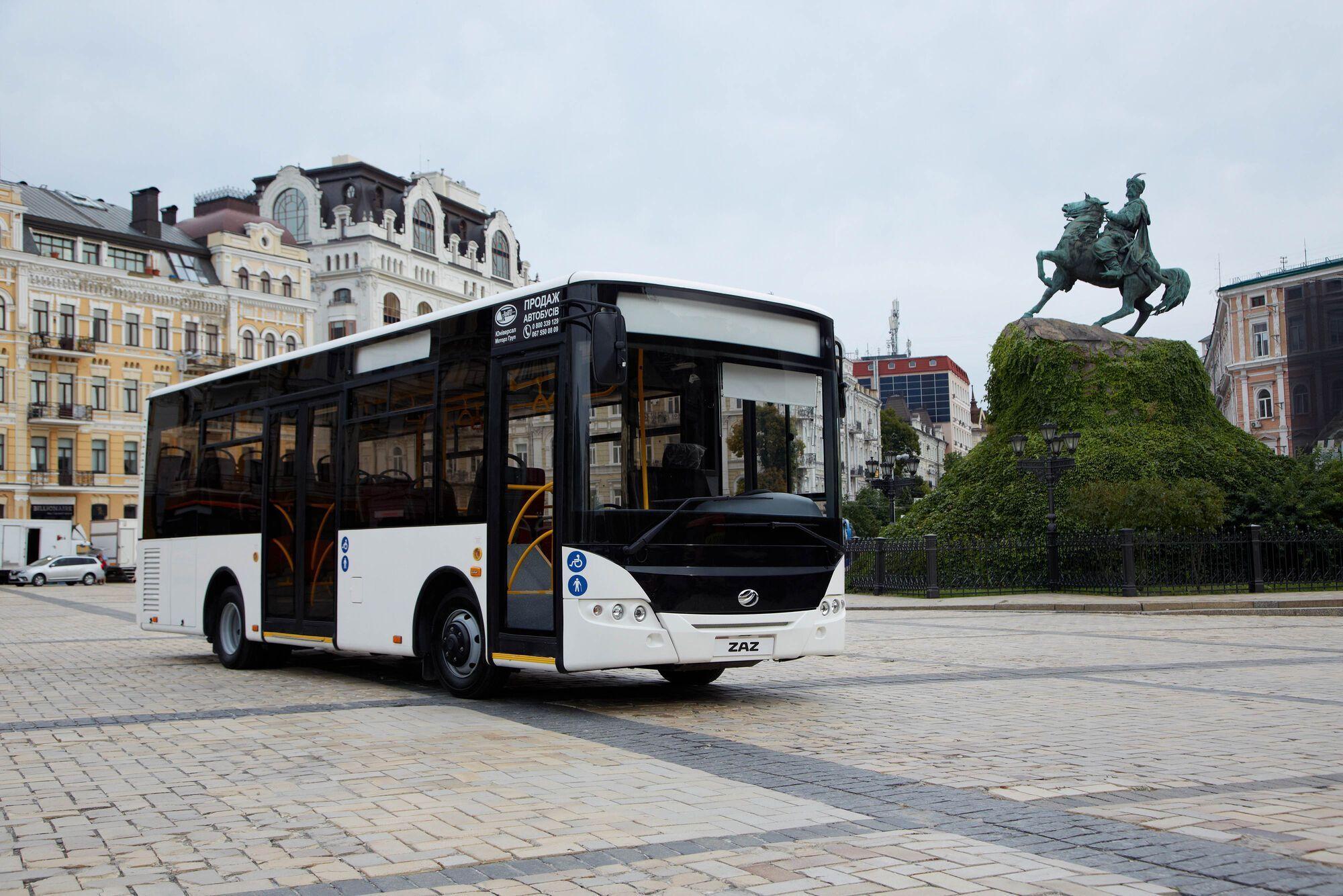Автобусы ЗАЗ получают европейскую сертификацию