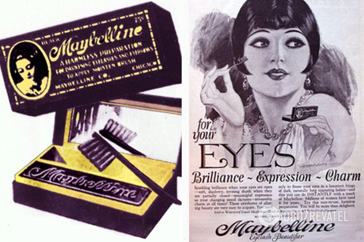 Maybelline у 1920-х роках