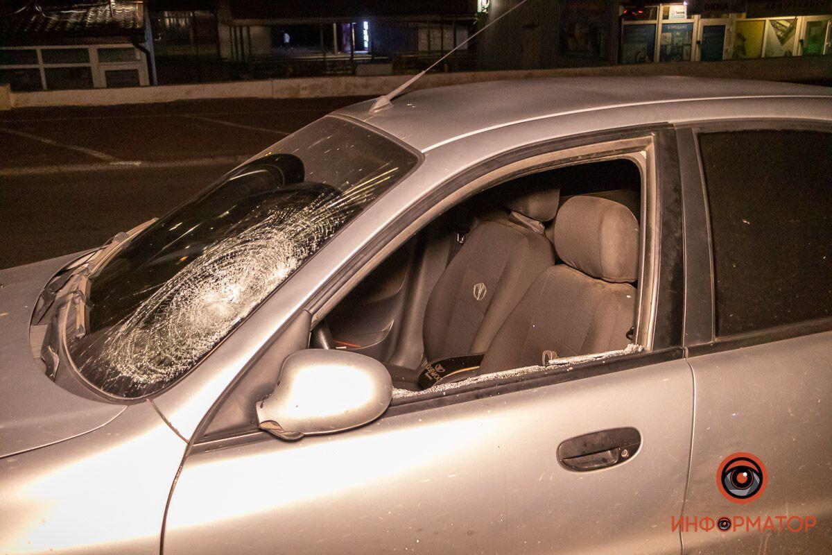 В Днепре в результате ночного ДТП пострадал пешеход. Фото