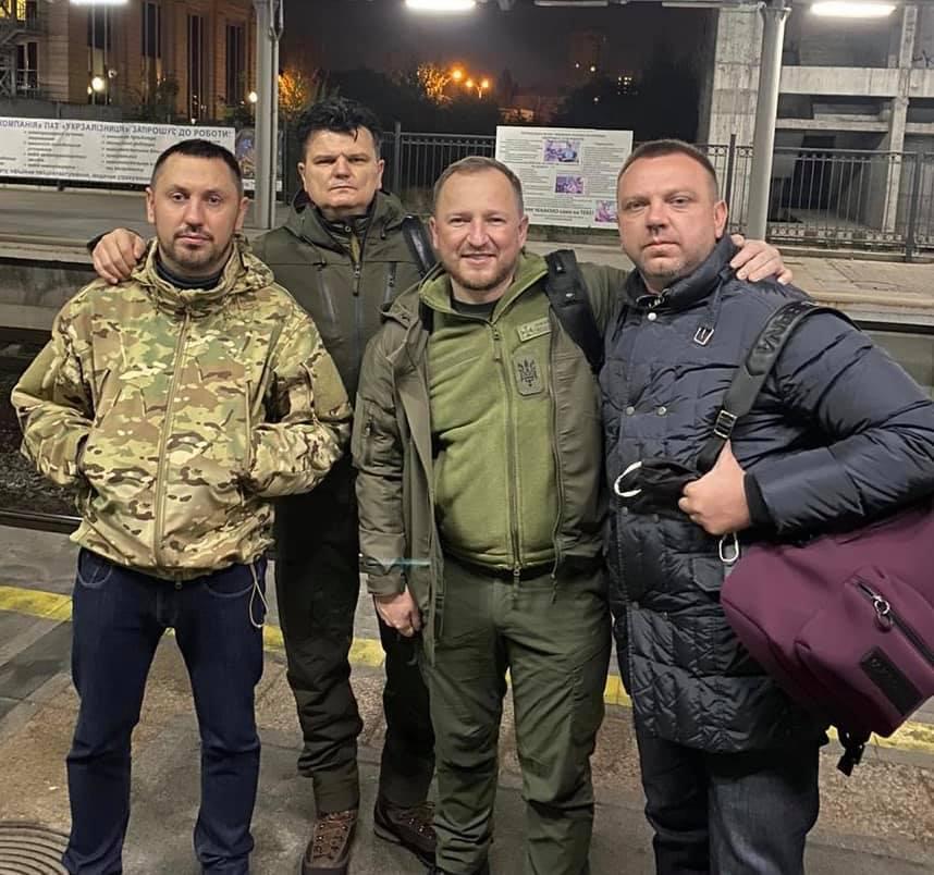Горбенко с коллегами по фракции