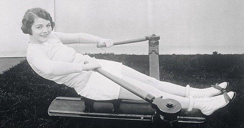 """""""По 20 минут каждое утро"""": американская актриса Элен Чэдвик демонстрирует то, как она поддерживает себя в форме, 1930-е годы"""