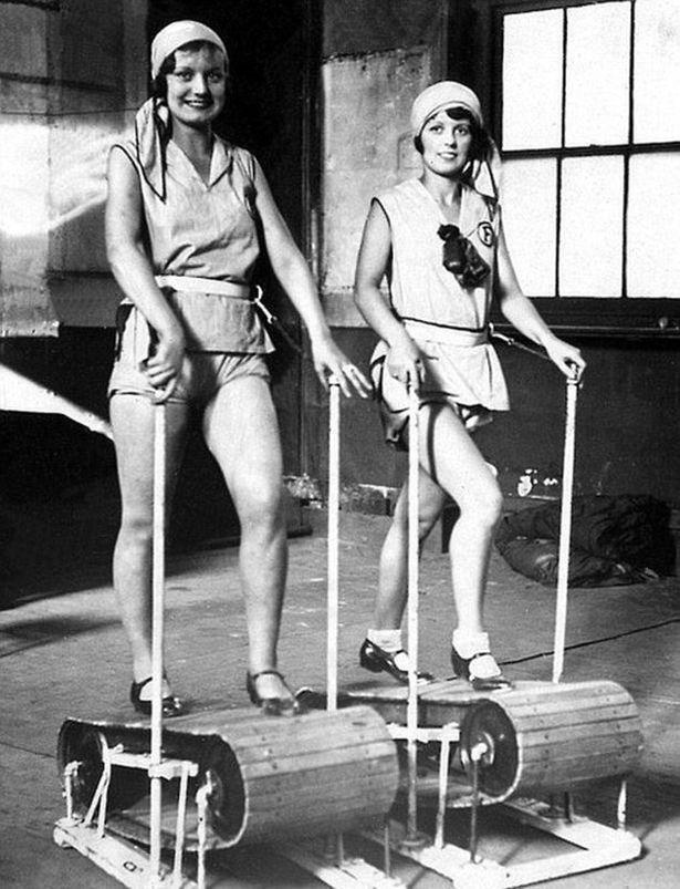 Деревянные беговые дорожки, 1920-е годы