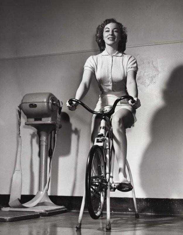 Велотренажер, 1930 год