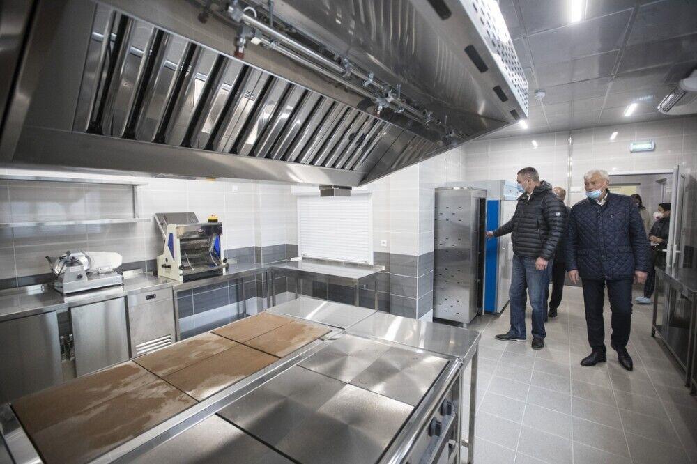 Садик оснащен современной кухней