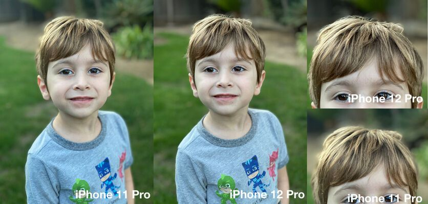 Появились первые фото с камеры iPhone 12: сравнительные снимки