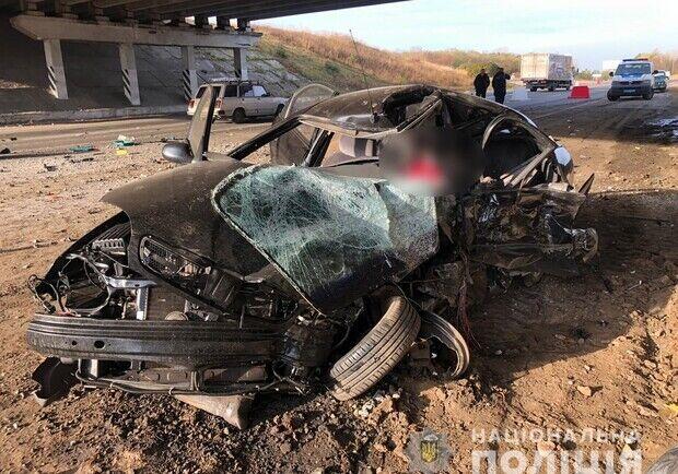 На месте аварии погибли отец и дочь