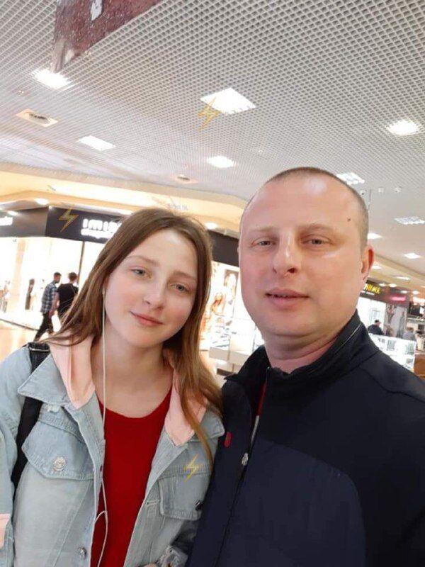 Підполковник ДСНС з дочкою
