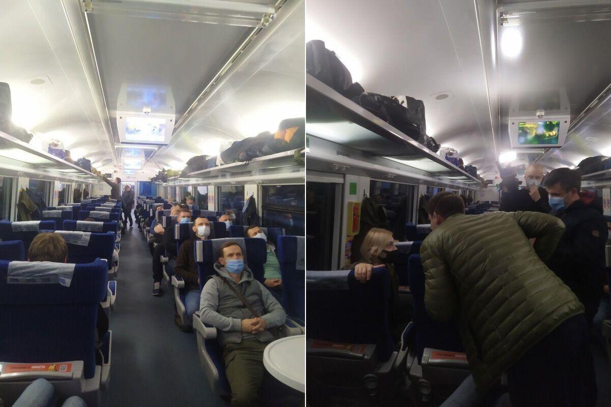 Нардепы отправились на Донбасс поездом