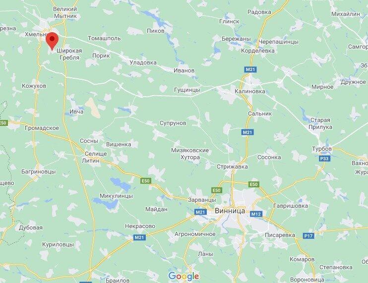 Трагедія трапилася в селі Голодьки.