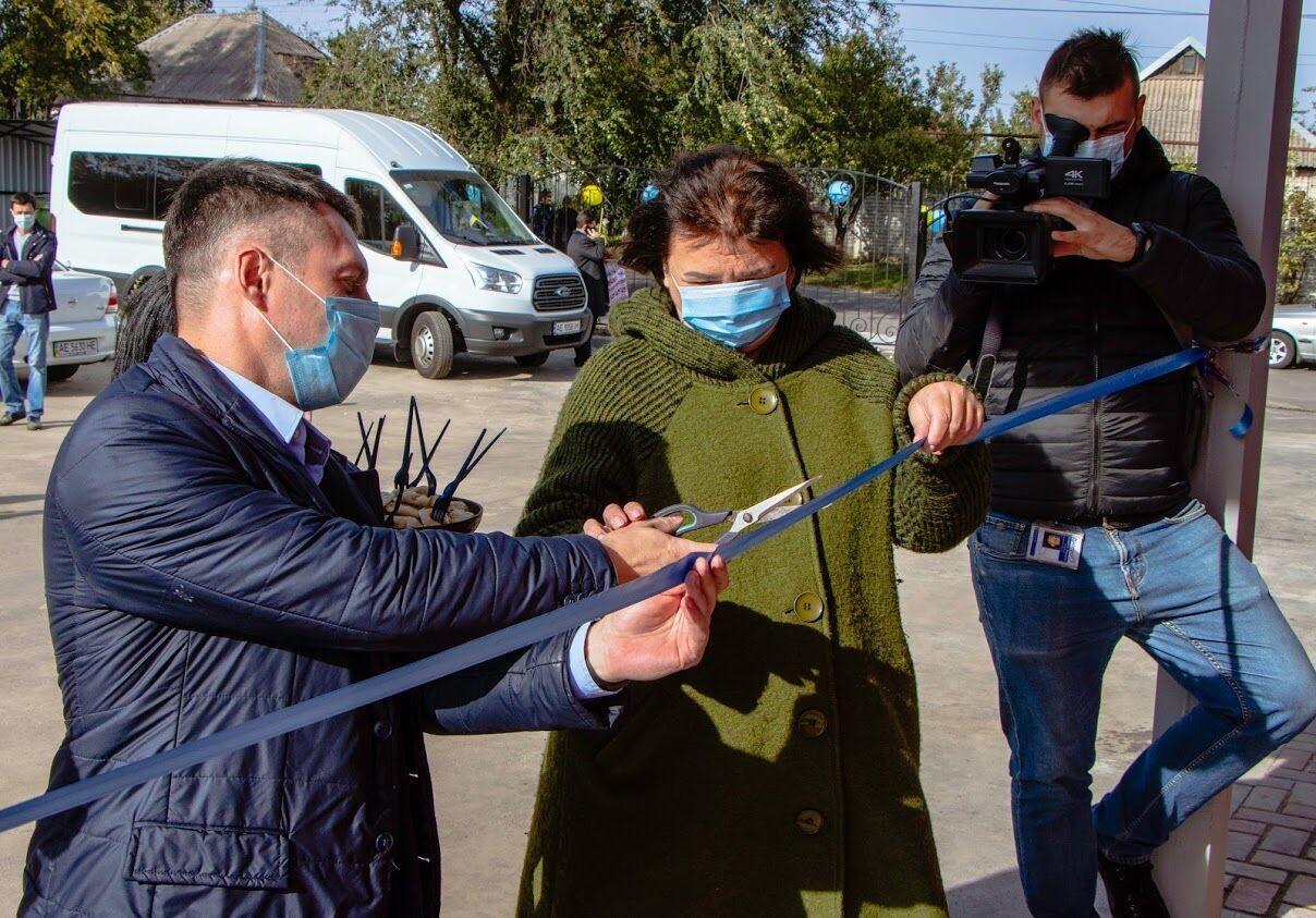 """У Дніпрі відкрили культурно-молодіжний центр """"Краснопiлля"""""""