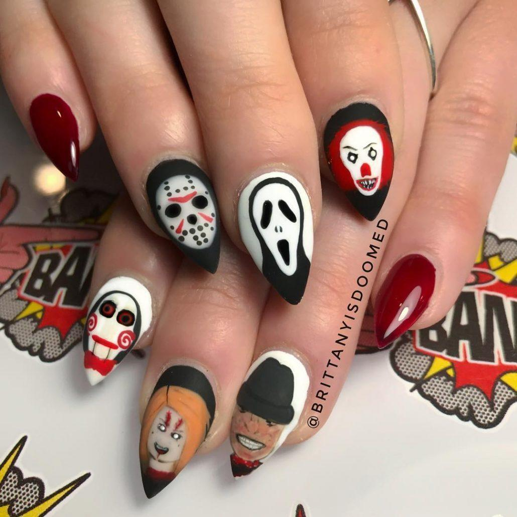 Какой маникюр сделать на Хэллоуин 2020: необычные идеи дизайна ногтей