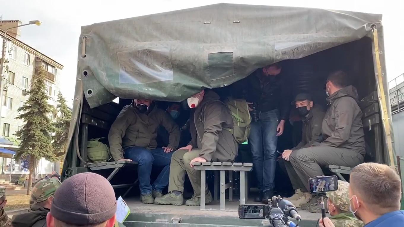 """""""Слуги народу"""" на Донбасі"""