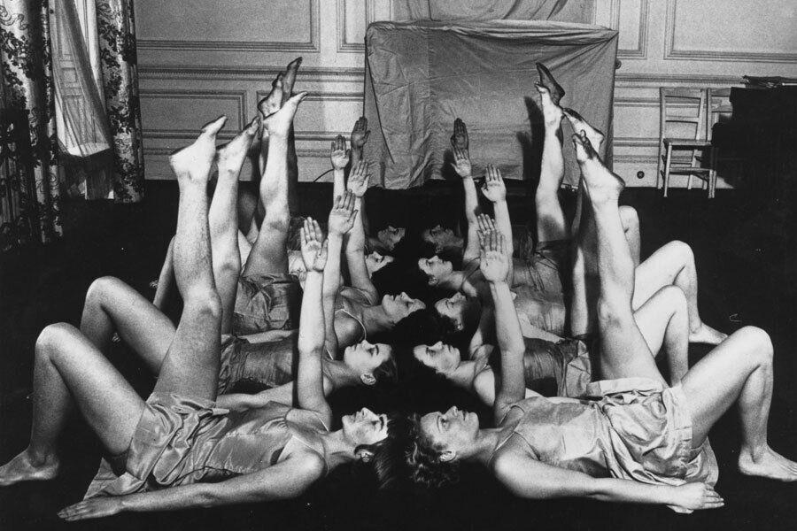 Американки во время тренировки