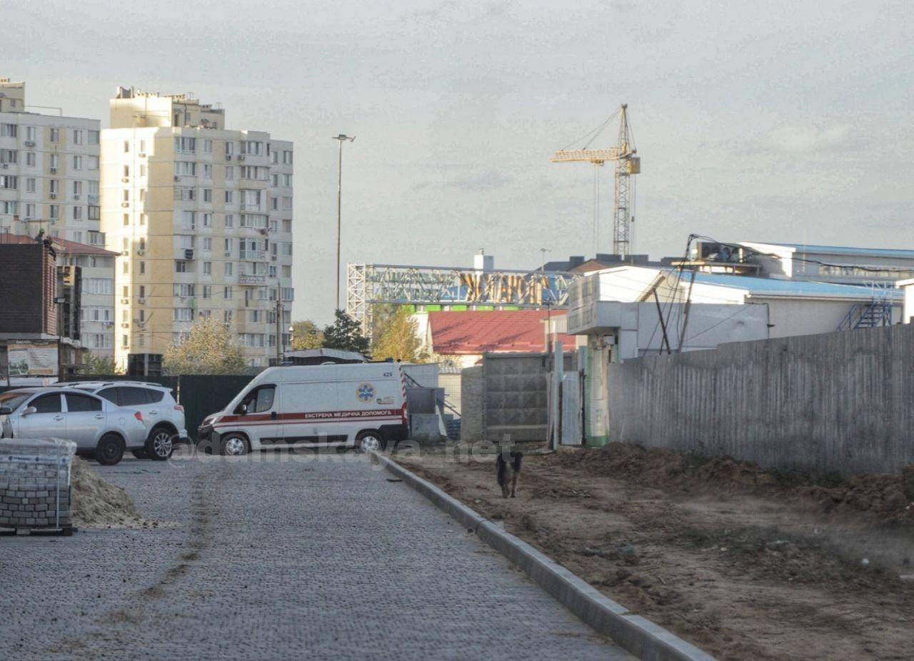 На стройплощадке в Одессе погибли двое рабочих