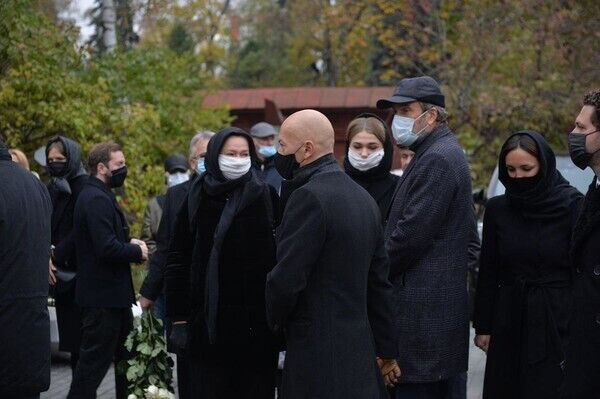 Похорон Скобцевої.