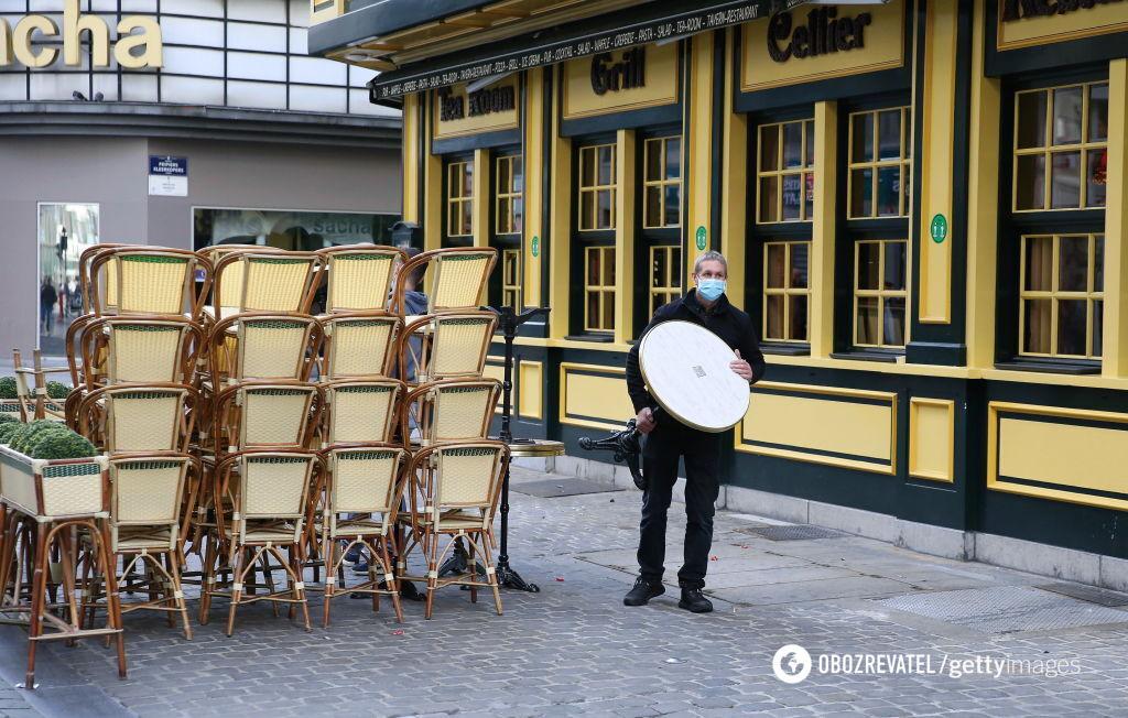 У Бельгії ресторатори незадоволені обмеженнями