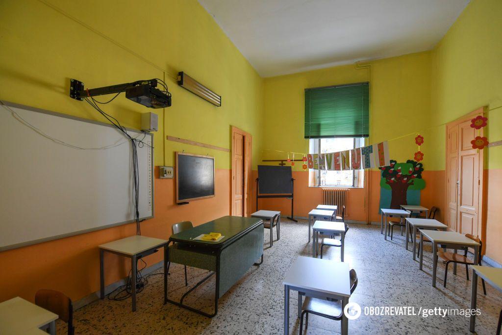 В Італії школярів відправили вчитися з дому